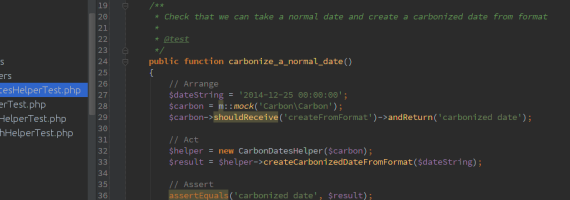 An image showing a small sample of my code