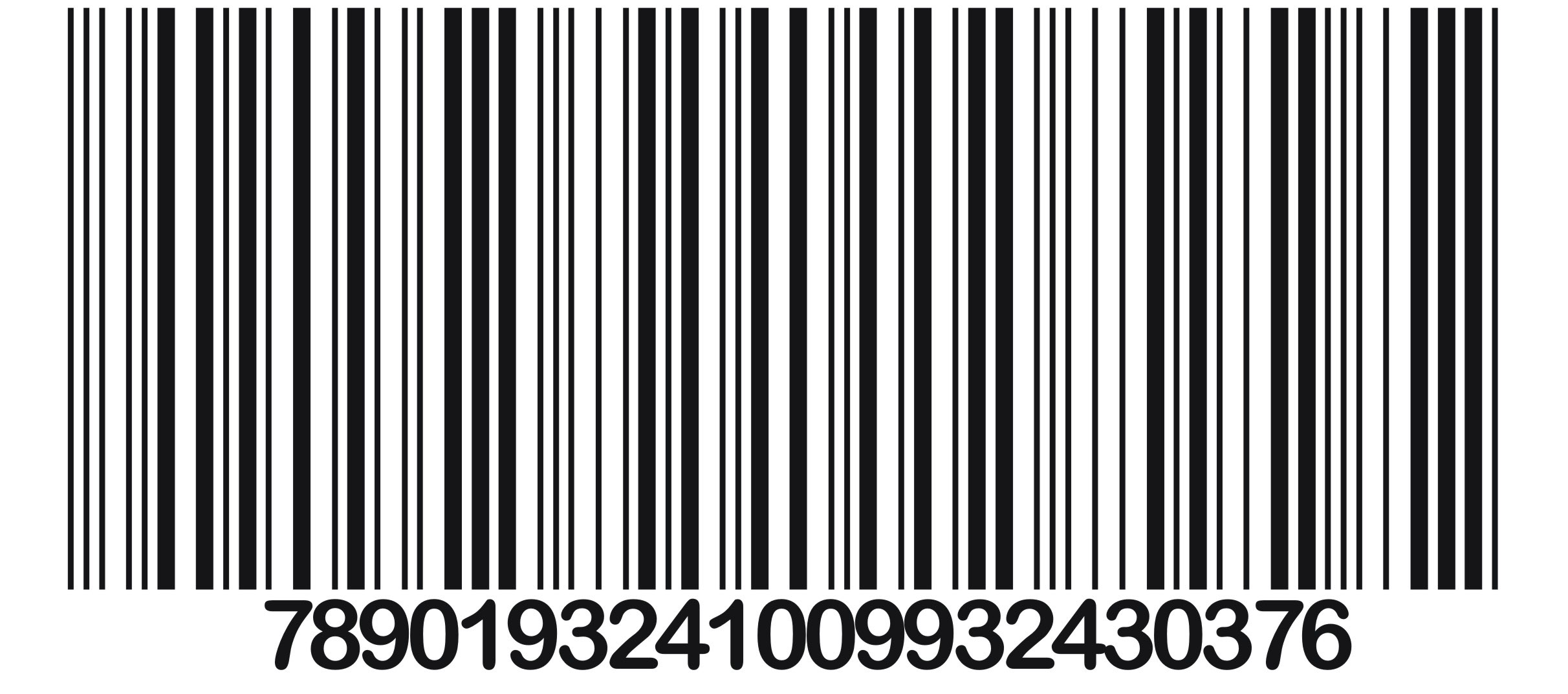 Possibly a barcode for a Black Friday TV?