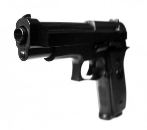 Image of a toy gun that looks very real
